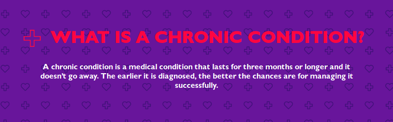 what is a chronic condition get checked go collect
