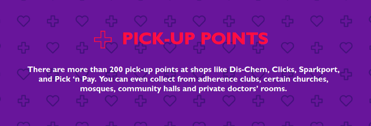 pick-up points get cheecked go collect